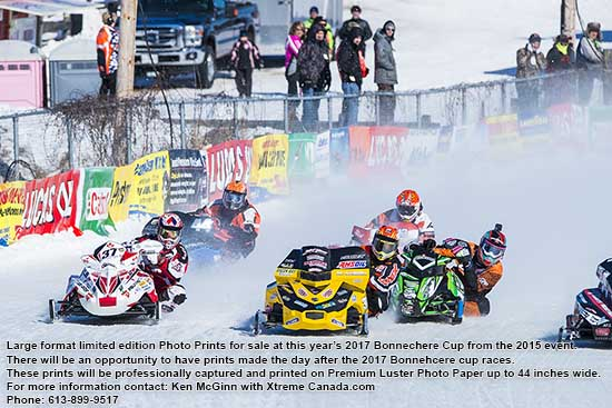 2017 Bonnechere Cup Oval Track Snowmobile